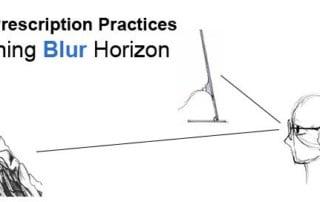 blur horizon myopia prevention