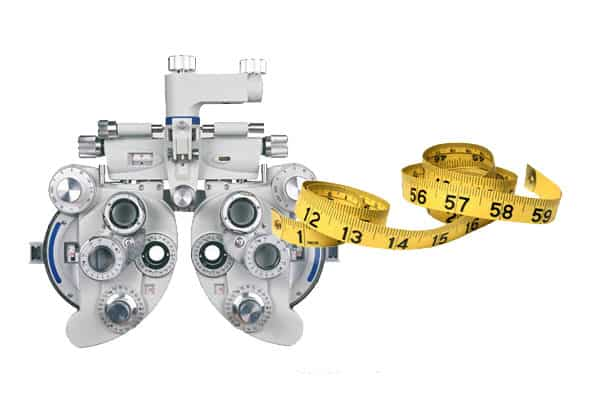 eyeexamcentimeter