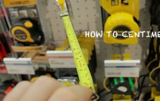 Another Quick & Awesome DIY Centimeter Measuring Tool