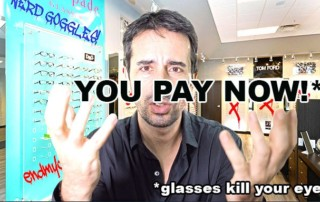(Video)  Glasses F#@% Up Your Eyes!!