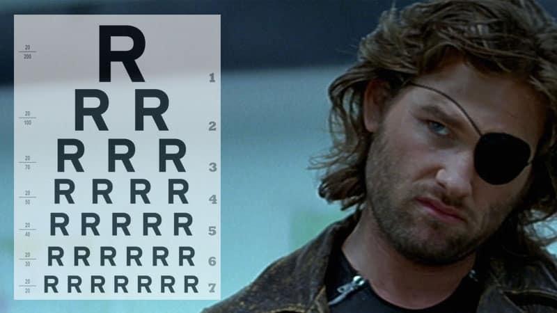 eye-patching