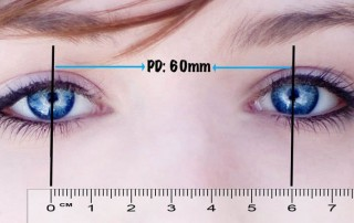 how to get pupillary distance