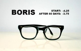 Boris:  Started At -4.25, Reduced To -3.75  (in 40 days!)