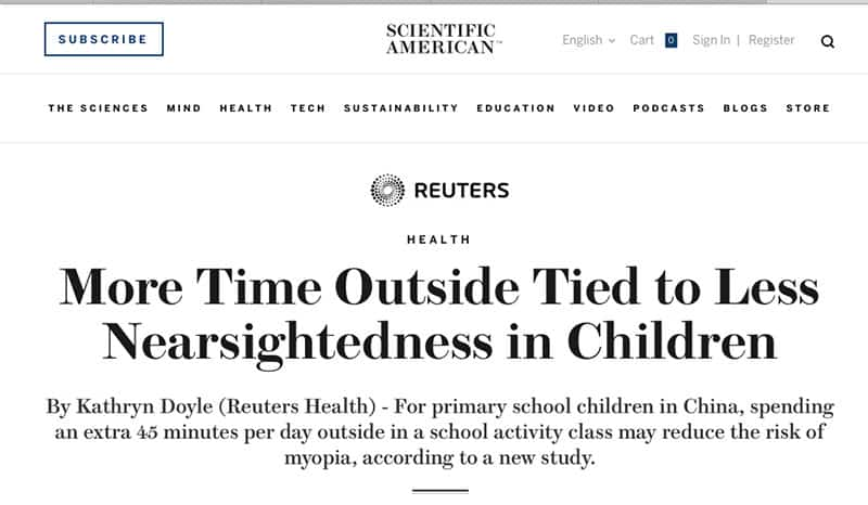 nearsightedness-children-outdoor