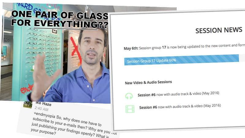 Session Updates, New Videos, & Audio Tracks!