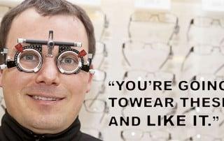 Optometrist Rigs Eye Exam, Refuses To Lower Prescription?