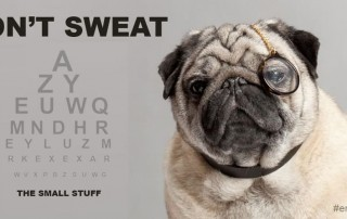 (Low Myopia Pro Topic) Don't Sweat The Small Stuff