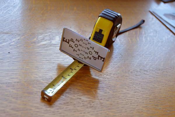 Brilliant DIY Centimeter Measuring Tool