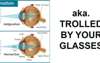 "Jaanus' Optometrist: ""Astigmatism Correction Is For Rare, Serious Cases"""