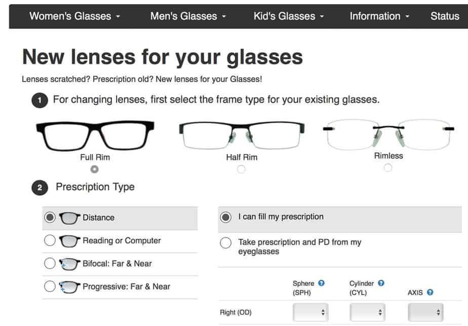 buy your next glasses here coupon code endmyopiaorg