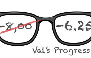 Val's Latest Progress Report:  -8.00 Now Reduced To -6.25