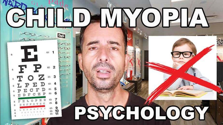 Child Developing Myopia – Uncooperative With Prevention?