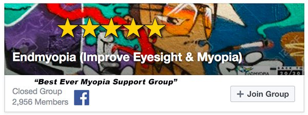 Endmyopia Facebook Group