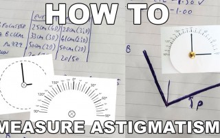 DIY TOOLS:  How To Measure Your Astigmatism Diopters