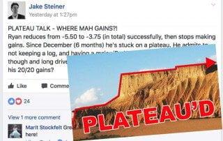 Strain-Stimulus Equilibrium:  No Gains, Plateau Talk