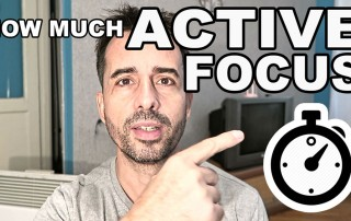 How Much Active Focus Per Day?