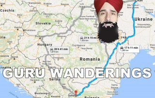 Off-Topic: The Guru's Old Walking Stick