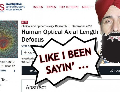 Science Confirms: Human Eye Axial Length Growth – In 60 Minutes!