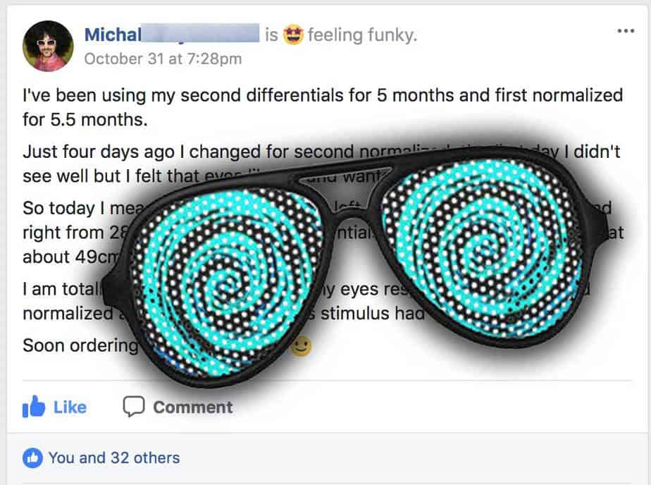 Michal:  Ready To Reduce Normalized Glasses?