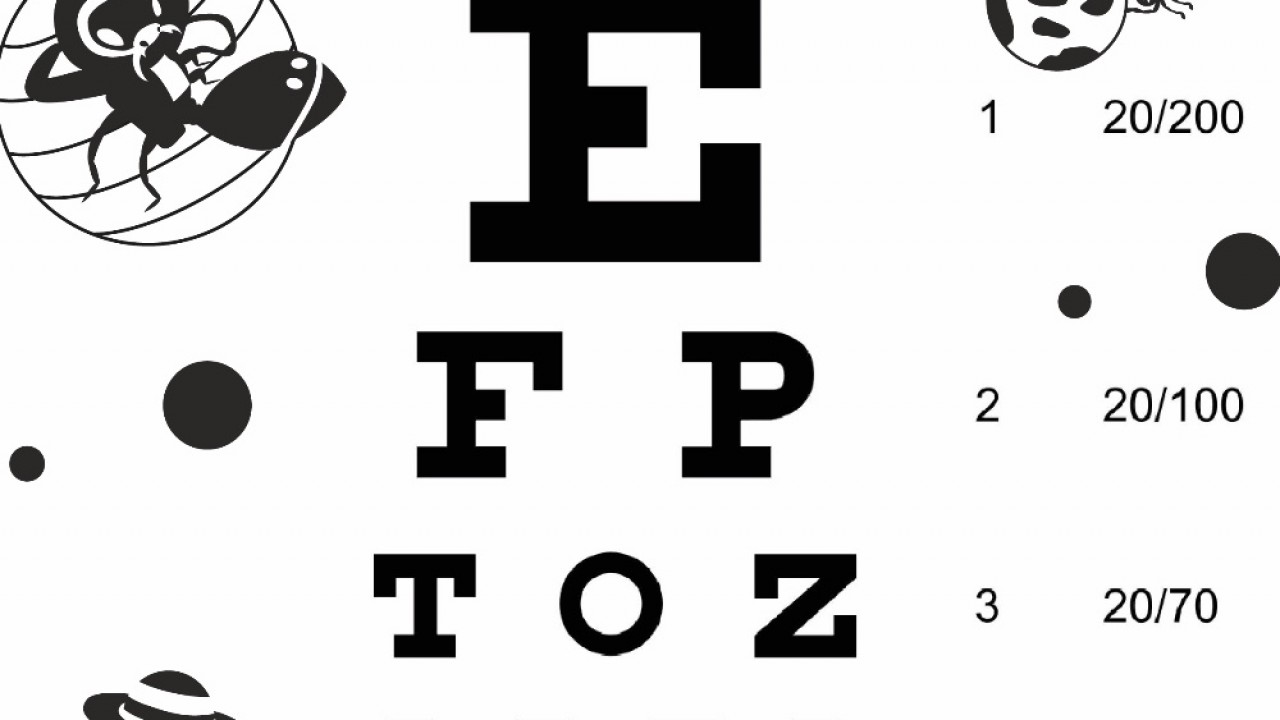 Download Free Eye Charts - A4 - Letter Size - 6 Meter - 3