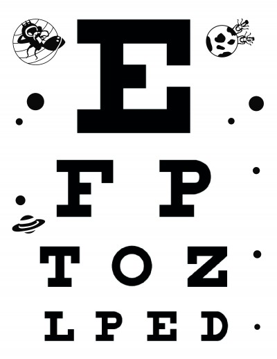 picture regarding Printable Snellen Charts identify Obtain Cost-free Eye Charts - A4 - Letter Dimensions - 6 Meter - 3