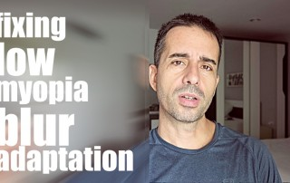 Video How-To: Low Myopia Blur Adaptation