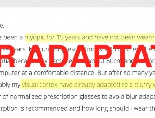 Long Term Uncorrected Low Myopia Blur Adaptation