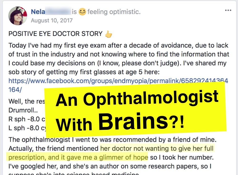 Shocking News: Not All Ophthalmologists Are Retarded