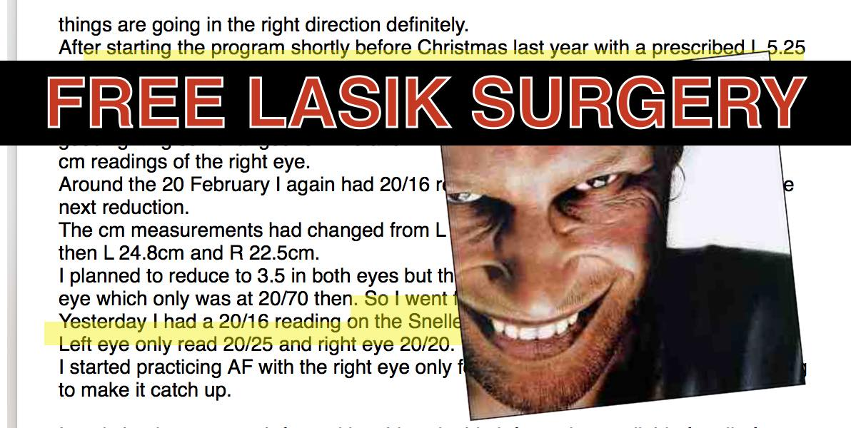 How To Get Free LASIK