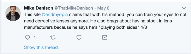 mike denison who is an idiot