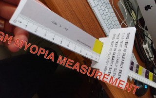 High Myopia Measuring Tool: Nate Tweaks The Diopter Tape