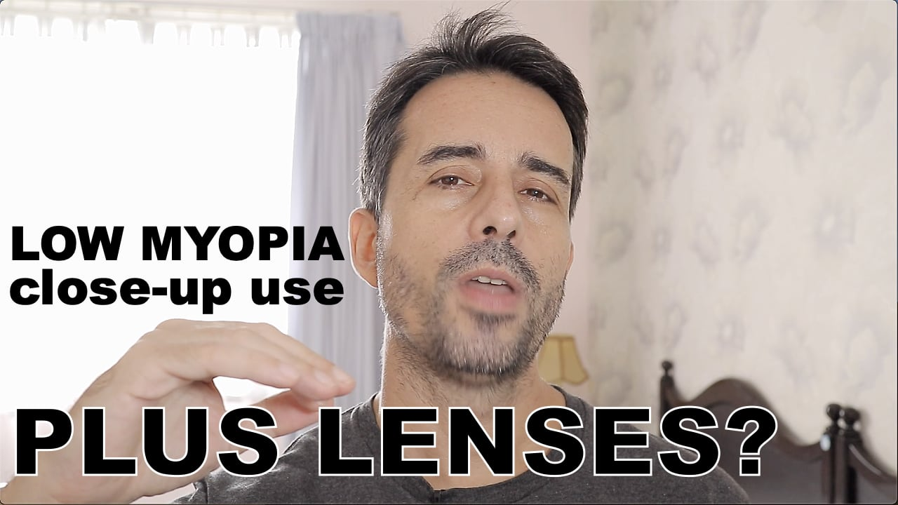 Low Myopia, Close-Up Glasses:  A Plus Lens Use Case?