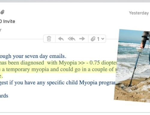 """Optometrist: """"Child Myopia Could Be Temporary"""""""