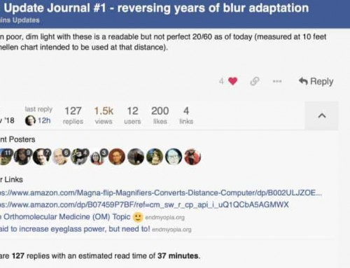 Reversing Years Of Blur Adaptation: The Le Meow Forum