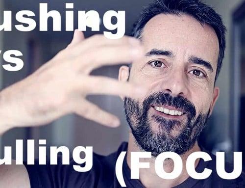 Pushing Focus vs. Pulling Focus