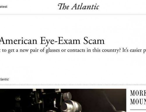 The Atlantic: The Great American Eye-Exam Scam